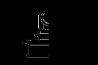 Штыревые стеклянные изоляторы ШС-10-12.5-CУ-IV на напряжение 10 кВ