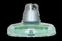 Подвесные стеклянные изоляторы ПС160Д 112V