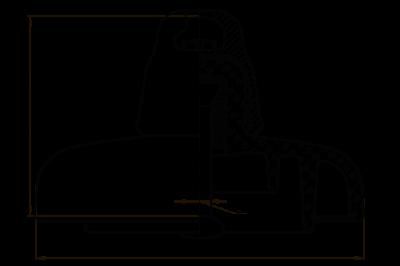 Подвесные стеклянные изоляторы ПС160К 112V