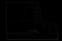 Подвесные стеклянные изоляторы ПС210Д 112V
