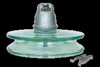 Подвесные стеклянные изоляторы ПСД 100В 112W