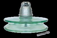 Подвесные стеклянные изоляторы ПСД 100В 212V