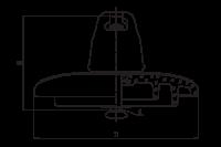 Визуальный индикатор старения изоляции типа ВИСИ